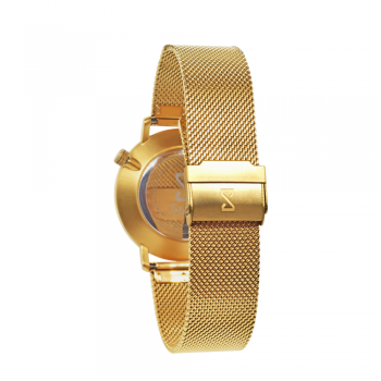 trasera SNOW -Steel Watch- Gold.