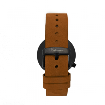 trasera STORM -Leather Watch- Black